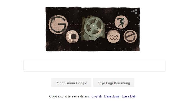 Google Doodle Antikythera