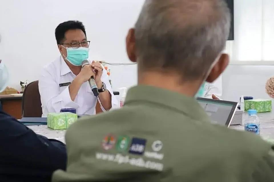 Sekda Kalbar Leysandri Resmikan Kantor Sekretariat TSC FIP-1