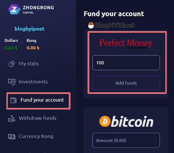 zhongrong addfund