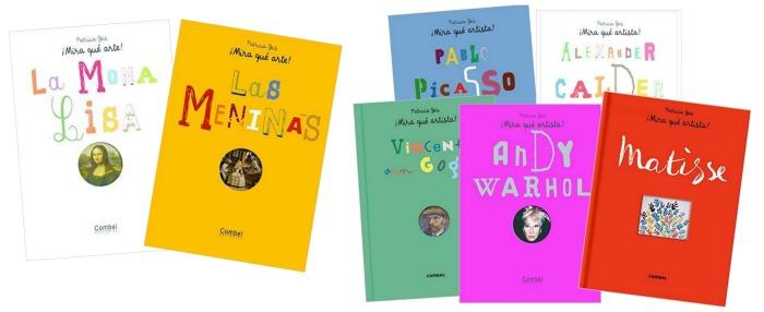 los mejores libros informativos para niños, libros conocimientos arte