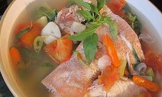 Sup Ikan Khas Sulawesi Utara