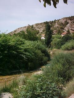 azud, assut, Matarraña, Matarranya, Beceite, Beseit, canyerets 2