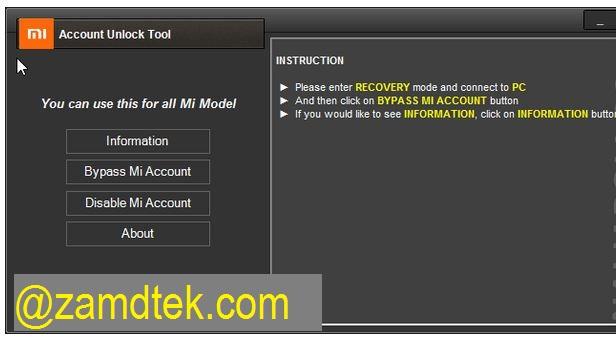 Download Free MI Account Unlock Tool