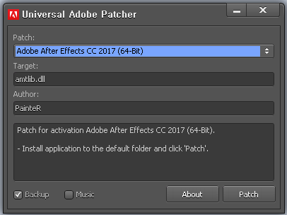 patch adobe cs6 master collection