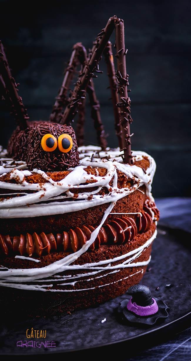 halloween gâteau qui fait peur