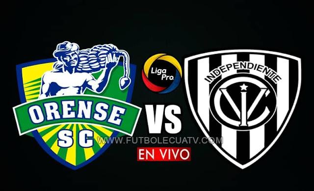 Orense recibe a Independiente del valle en vivo a partir de las 15h30 hora local, por la fecha 15 del campeonato ecuatoriano siendo emitido por GolTV Ecuador a jugarse en el campo Nueve de Mayo. Teniendo como juez principal a Franklin Congo.