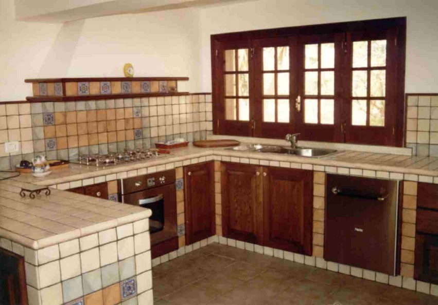 Edilizia in un click: Come costruire una cucina in muratura e quanto ...