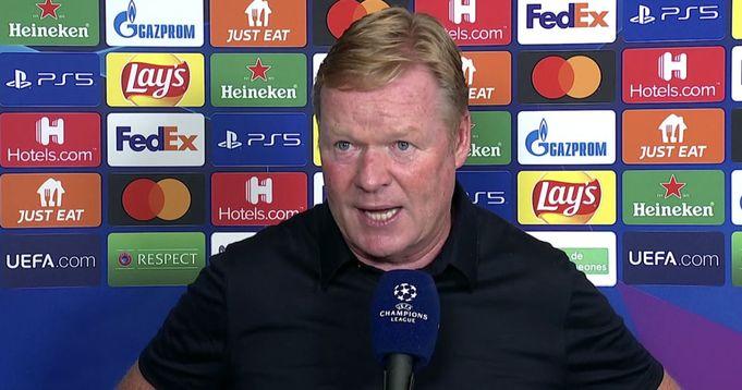 'We don't have enough top-level players': Koeman talks Bayern loss