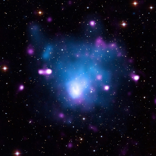 Galaxy Cluster Abell 665