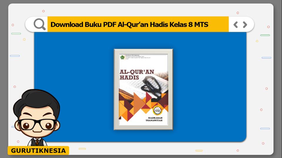 download buku pdf al-qur'an hadis kelas 8 mts
