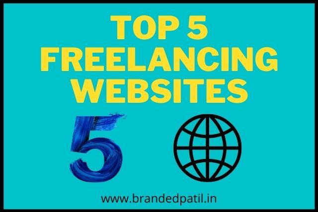 Top 5 Freelancing websites