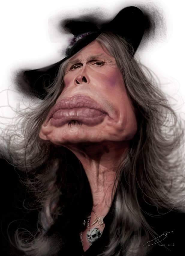 Steven Tyler por Rivorio Mok