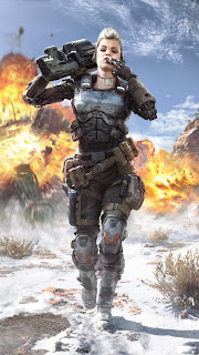 Call of Duty Black Ops Girl Mobile HD Wallpaper