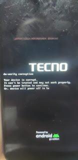 TECNO BC2 FIX DM-Verity Corrupted