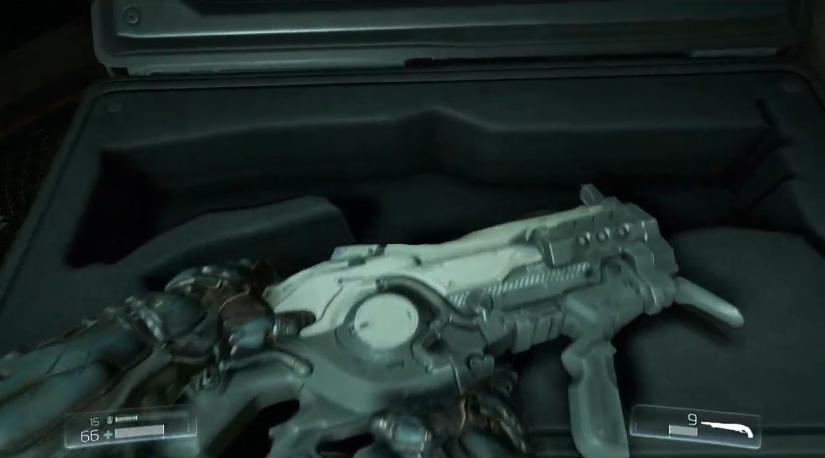 Después del BFG 9000, el rifle de plasma es una de las armas icónica de Doom.