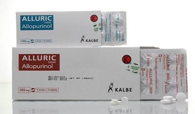 Alluric - Manfaat, Efek Samping, Dosis dan Harga