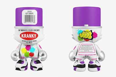 Icy Grape SuperKranky Vinyl Figure by Sket One x Superplastic