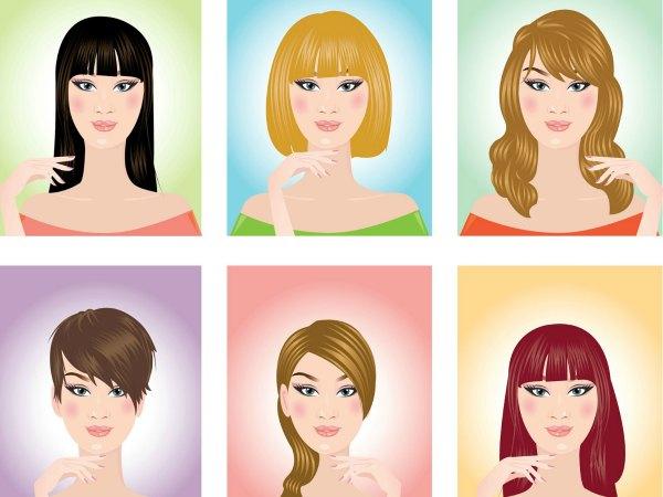 Estructura del pelo en ingles