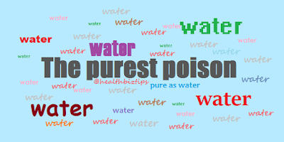 What is the Lethal ose of Water?