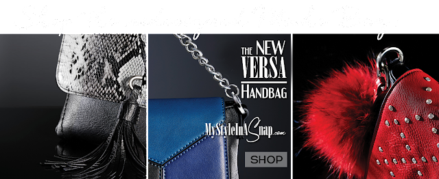 Shop the interchangeable VERSA Signature Handbag that utilizes the Miche patents at MyStyleInASnap.com