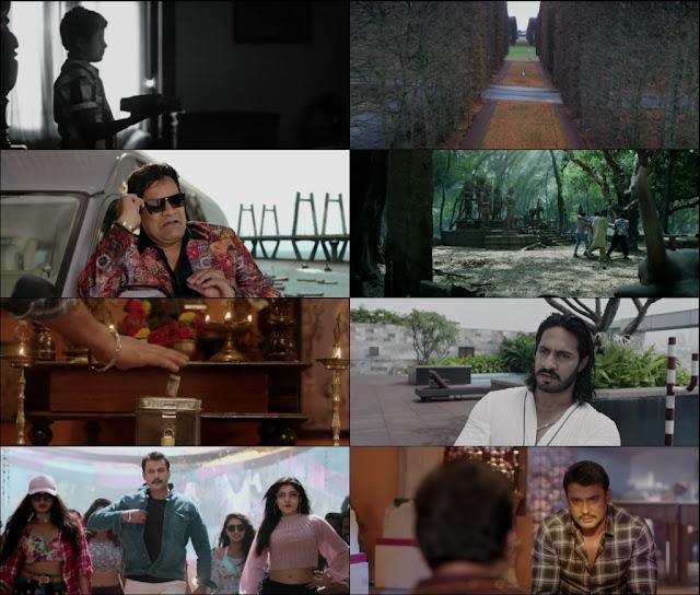 Yajamana 2019 Hindi Dubbed 1080p WEBRip