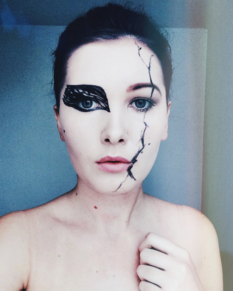 Aninimal Book: The world I live in..: Halloween makeup looks