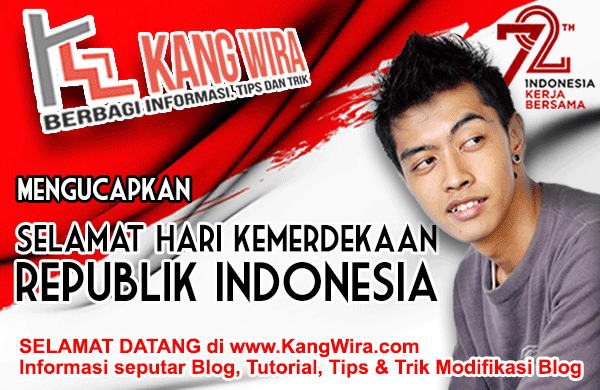 Selamat Hari Kemerdekaan Republik Indonesia
