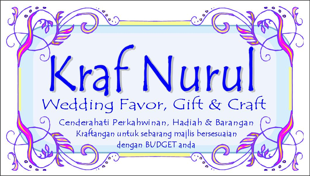 Kraf Nurul - Wedding Favor, Gift & Craft