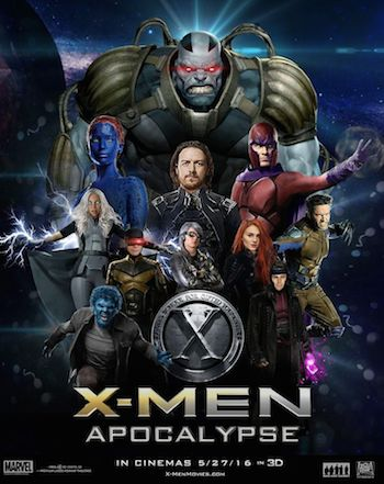 X-MEN Apocalypse 2016 English 480p HDTC 400mb ESubs Download