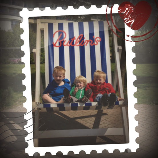 Butlins deckchair at Bognor Regis