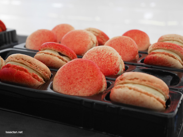 Fraise macaroons - Pure Strawberry Fantasy
