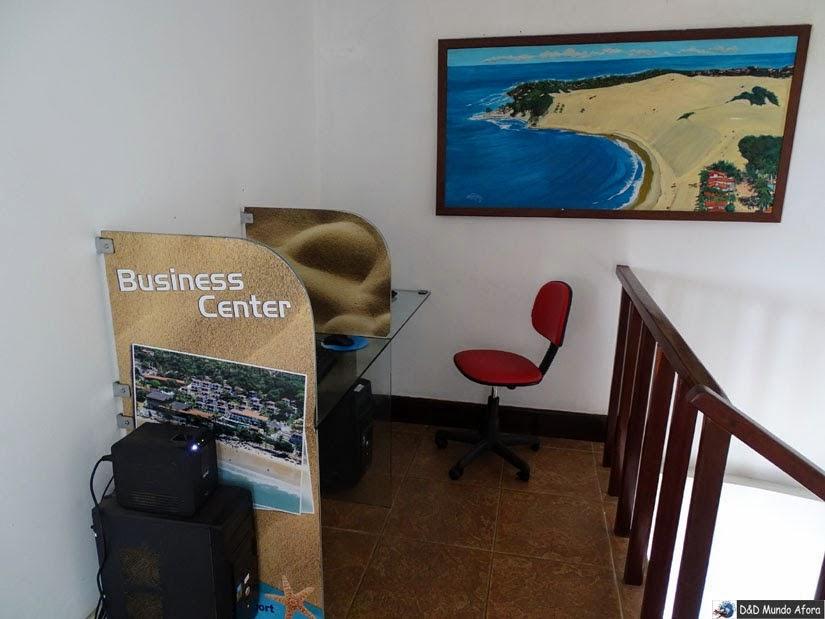 Espaço de Internet no D Beach Resort em Natal