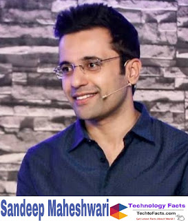 What is the net worth of Sandeep Maheshwari?