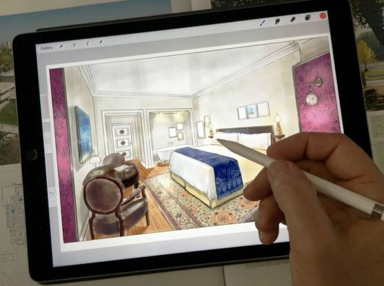 Sketches skill can be integrated with technology