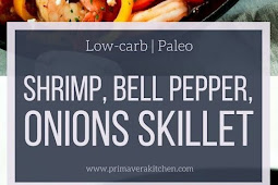 Shrimp, Bell Pepper and Onions Skillet(KETO_LOW CARB)