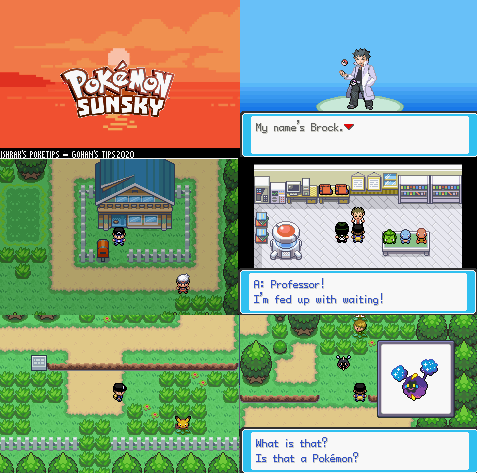 Pokemon Sun Sky GBA ROM Hack Download