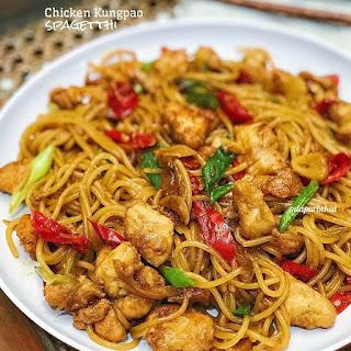 Ide Resep Masak Chicken Kungpao Spaghetti