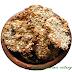Ciastka owsiane z dodatkami rodzynek, lnu, miodu, orzechów, siemienia lnianego i żurawiny