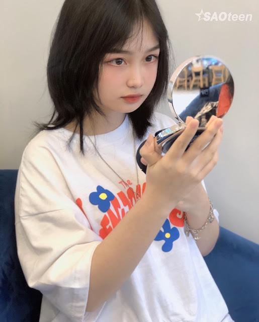 Tan chảy trước vẻ đẹp của nữ sinh Việt có gương mặt Trung Hoa - Ảnh 3