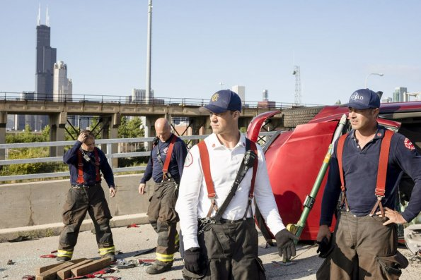 """chicago fire episode 805 buckle up promotional photo 11 595 - Chicago Fire (S08E05) """"Buckle Up"""" Episode Preview"""