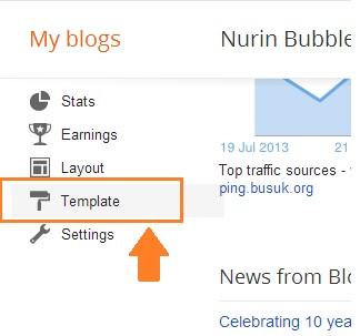 Cara mudah tukar font blog