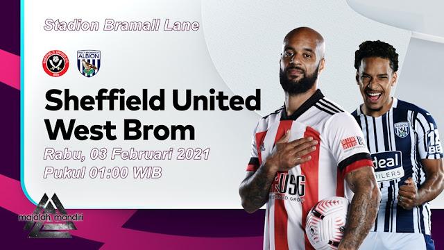 Prediksi Sheffield United Vs West Bromwich Albion