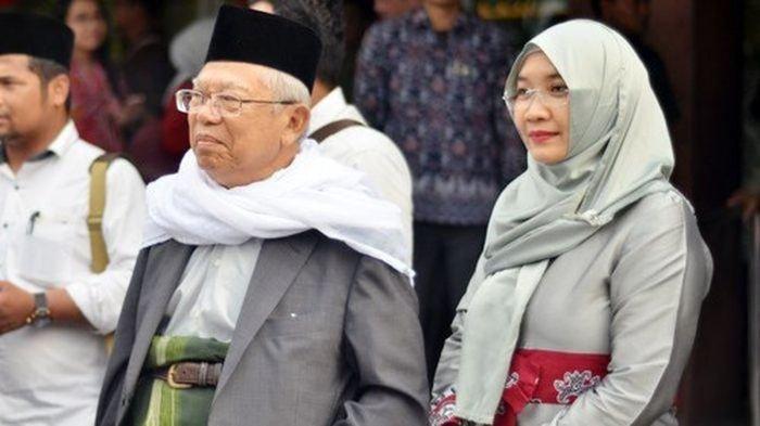 KH. Ma'ruf Amin Minta Sandiaga Jaga Sopan Santun saat Debat Cawapres