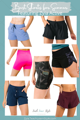 zyia active review, zyia active sizing, zyia active shorts, zyia shorts reviews, zyia shorts sizing