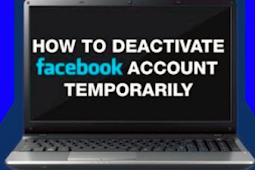 How Do I Temporarily Deactivate My Facebook Account