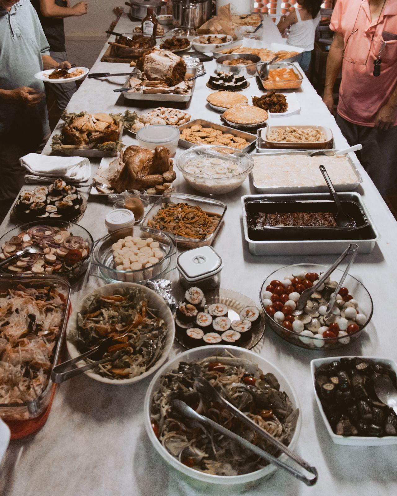 Natal 2019 mesa de natal