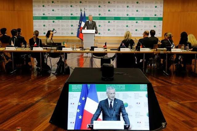 Menteri Perancis Janji Dana Perubahan Iklim Global Capai Sekitar 11 Miliar Dolar