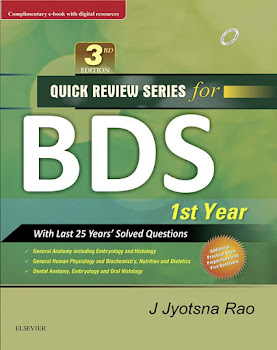 Quick Review Series for BDS 1st Year Third Edition