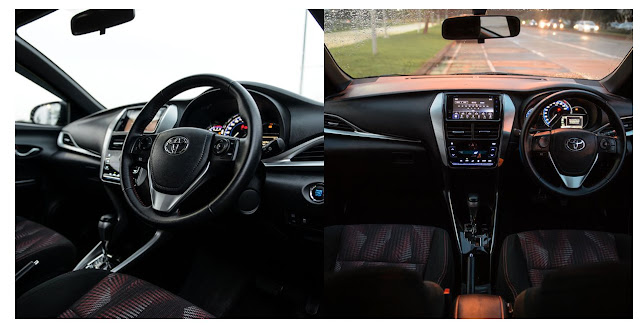 Interior Toyota All New Yaris 2019-2020