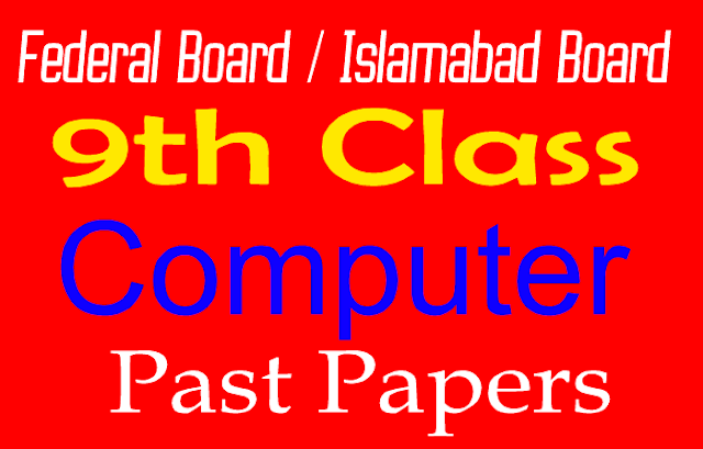 Ninth Old Papers Computer